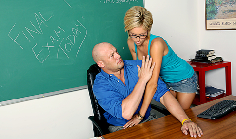 Christian & Victoria White in Naughty Bookworms - Naughty America - Sex Position #2