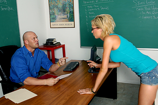 Christian & Victoria White in Naughty Bookworms - Naughty America - Sex Position #1