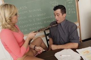 Zoey Monroe & Billy Glide in Naughty Bookworms - Naughty America - Sex Position #3