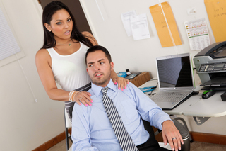 Adrianna Luna & Kris Slater in Naughty Office - Naughty America - Sex Position #3