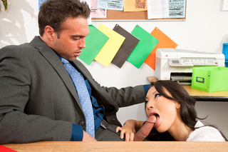 Asa Akira & Rocco Reed in Naughty Office - Naughty America - Sex Position #5