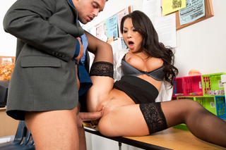 Asa Akira & Rocco Reed in Naughty Office - Naughty America - Sex Position #10