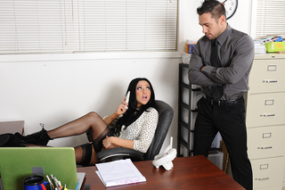 Audrey Bitoni & Johnny Castle in Naughty Office - Naughty Office - Sex Position #2