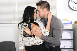 Audrey Bitoni & Johnny Castle in Naughty Office - Naughty Office - Sex Position #3