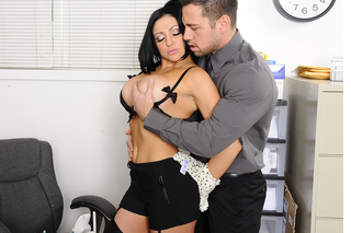 Audrey Bitoni & Johnny Castle in Naughty Office - Naughty Office - Sex Position #4