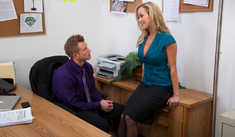 Brandi Love & Bill Bailey in Naughty Office - Naughty America - Sex Position #1
