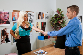 Bridgette B. & Chris Johnson in Naughty Office - Naughty America - Sex Position #2