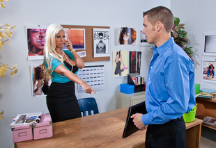 Bridgette B. & Chris Johnson in Naughty Office - Naughty America - Sex Position #3