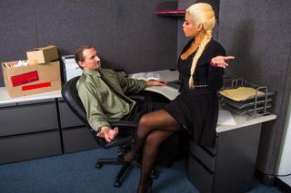 Bridgette B. & Mark Ashley in Naughty Office - Naughty Office - Sex Position #1