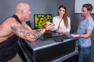 Brooklyn Chase & Richie Black in Naughty Office - Naughty Office - Sex Position #1
