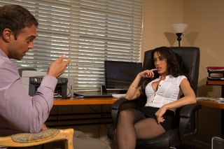 Capri Cavanni & Rocco Reed in Naughty Office - Naughty Office - Sex Position #1