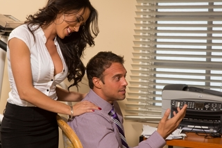 Capri Cavanni & Rocco Reed in Naughty Office - Naughty Office - Sex Position #2
