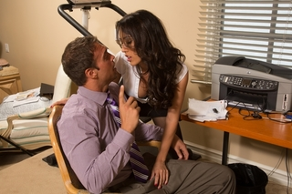 Capri Cavanni & Rocco Reed in Naughty Office - Naughty Office - Sex Position #3