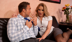 Jennifer Dark & Justin Magnum in Naughty Office - Naughty America - Sex Position #1