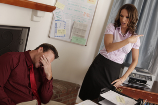 Jennifer Dark & Justin Magnum in Naughty Office - Naughty Office - Sex Position #1