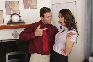 Jennifer Dark & Justin Magnum in Naughty Office - Naughty Office - Sex Position #2