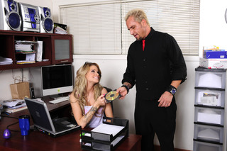 Jessa Rhodes & Barrett Blade in Naughty Office - Naughty Office - Sex Position #1