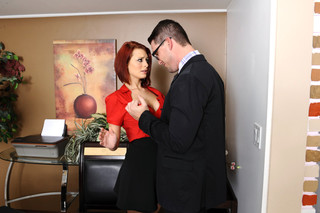 Jessica Robbin & Aaron Wilcoxxx in Naughty Office - Naughty America - Sex Position #3