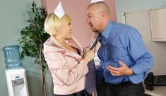 Kagney Linn Karter & Will Powers in Naughty Office - Naughty America - Sex Position #1