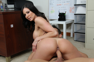 Kendra Lust & Johnny Castle in Naughty Office - Naughty America - Sex Position #8