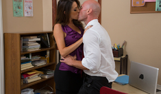 Kortney Kane & Johnny Sins in Naughty Office - Naughty America - Sex Position #1