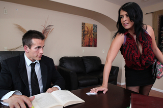Lacie James & Talon in Naughty Office - Naughty America - Sex Position #2