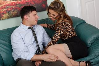 Sheena Shaw & Anthony Rosano in Naughty Office - Naughty America - Sex Position #3