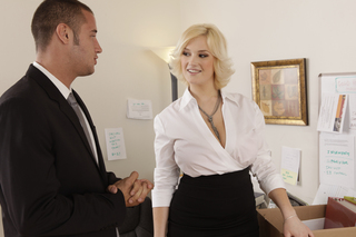 Siri & Danny Mountain in Naughty Office - Naughty America - Sex Position #1