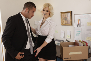 Siri & Danny Mountain in Naughty Office - Naughty Office - Sex Position #2