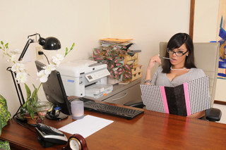 Stacey Foxxx & Levi Cash in Naughty Office - Naughty America - Sex Position #2