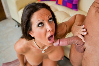 Amy Fisher seduces a guy into fucking her pussy from Naughty America
