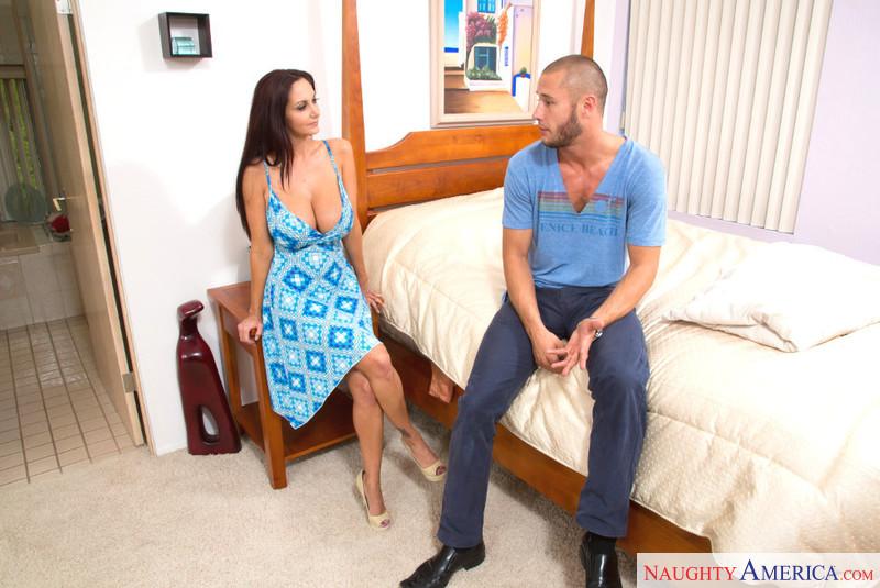 Ava addams seduced by cougar maybe, were