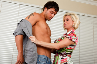 Diamond Foxxx & Rocco Reed in Seduced By A Cougar - Naughty America - Sex Position #1