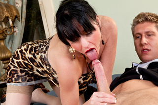 Danny Wylde & Karen Kougar in Seduced By A Cougar - Naughty America - Sex Position #3