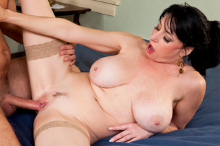Danny Wylde & Karen Kougar in Seduced By A Cougar - Naughty America - Sex Position #6
