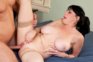Danny Wylde & Karen Kougar in Seduced By A Cougar - Naughty America - Sex Position #7