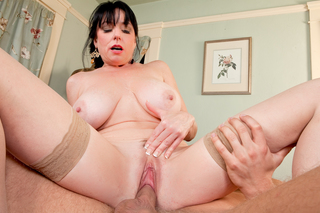 Danny Wylde & Karen Kougar in Seduced By A Cougar - Naughty America - Sex Position #11