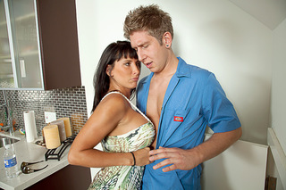 Danny Wylde & Lezley Zen in Seduced By A Cougar - Naughty America - Sex Position #1