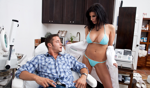 Danny Mountain & Shay Sights in Seduced By A Cougar - Naughty America - Sex Position #4