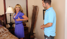 Shayla LaVeaux & Kris Slater in Seduced by a Cougar - Naughty America - Sex Position #1