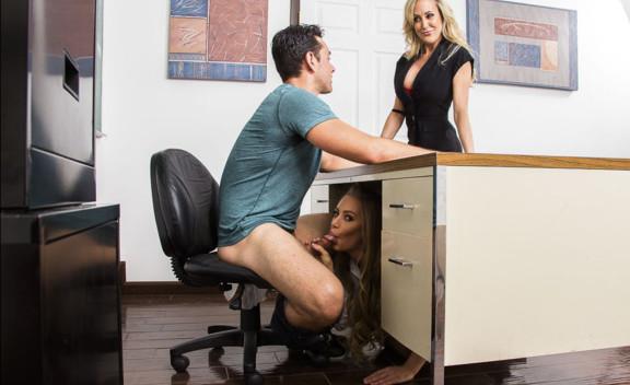 Brandi Love & Nicole Aniston - Sex Position #1