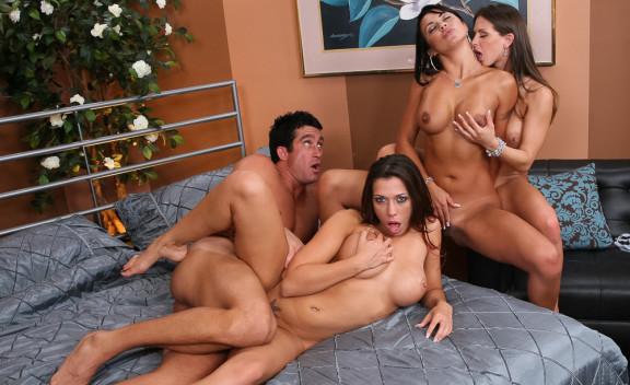 Mariah Milano, Rachel Starr & Rachel Roxxx - Sex Position #4