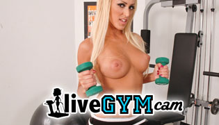 Stream hot chicks working out and sweating in front of the webcam